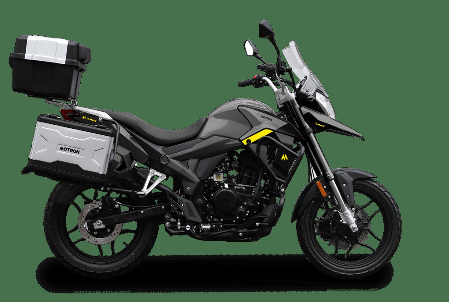 Motron Motorcycles - X-Nord 125 Touring